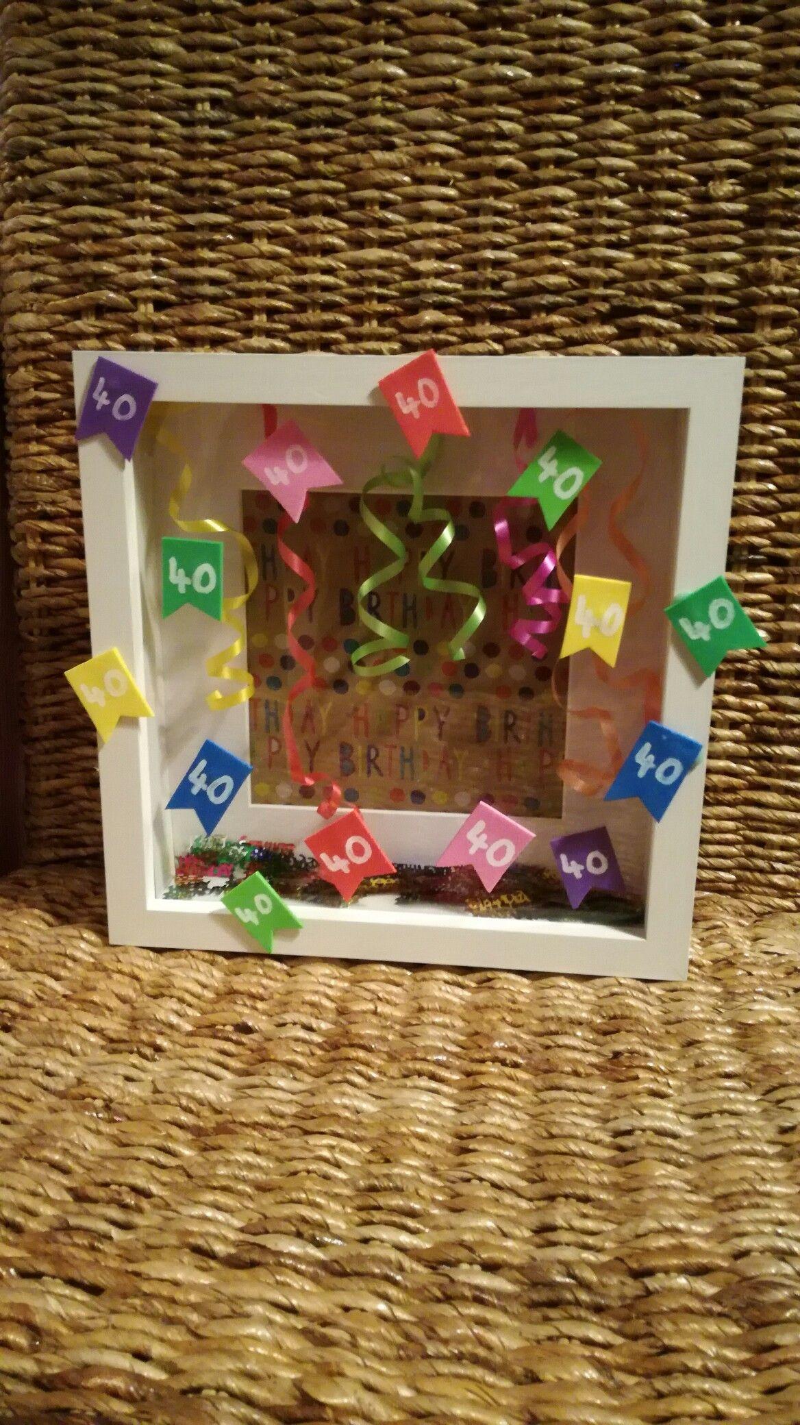 Geldgeschenk Zu 40 Selbstgemachte Geschenke Geburtstag 40 Geburtstagsgeschenke Selbermachen Geschenke