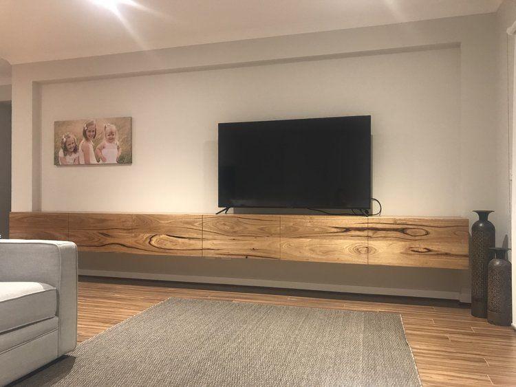 messmate floating tv unit tv walls in 2019 floating tv unit rh pinterest com
