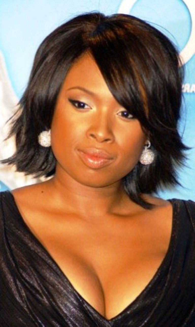 Photo Gallery Of The Hairstyles For Plus Size Women Plus Size Hairstyles Short Hair Styles Hair Styles