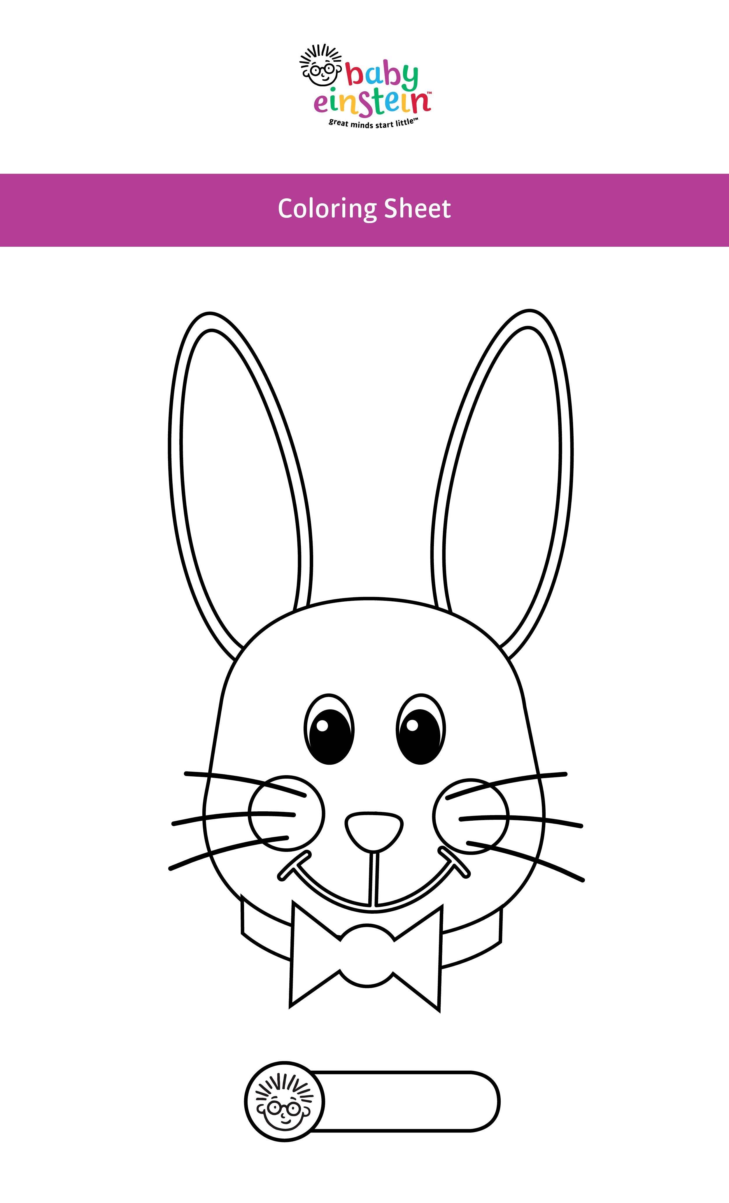 adorable baby einstein coloring pages for your little one