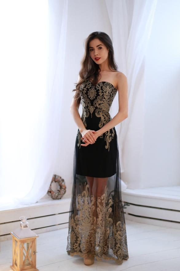 3e0a42a44ed Прокат и аренда Женская одежда Платья Золотая вышивка