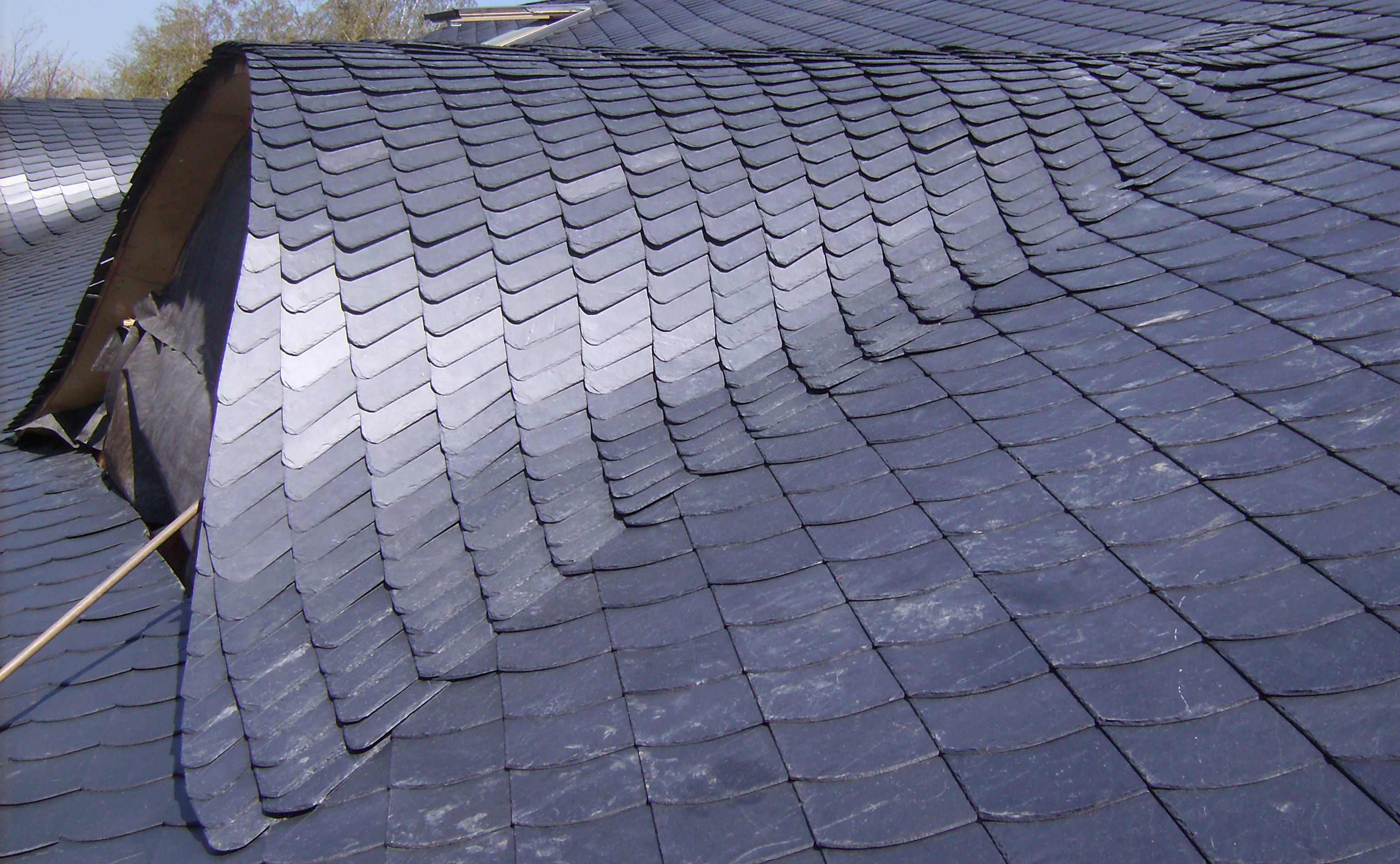 Image Result For Zinc Tile Roof Cladding Metal Roof