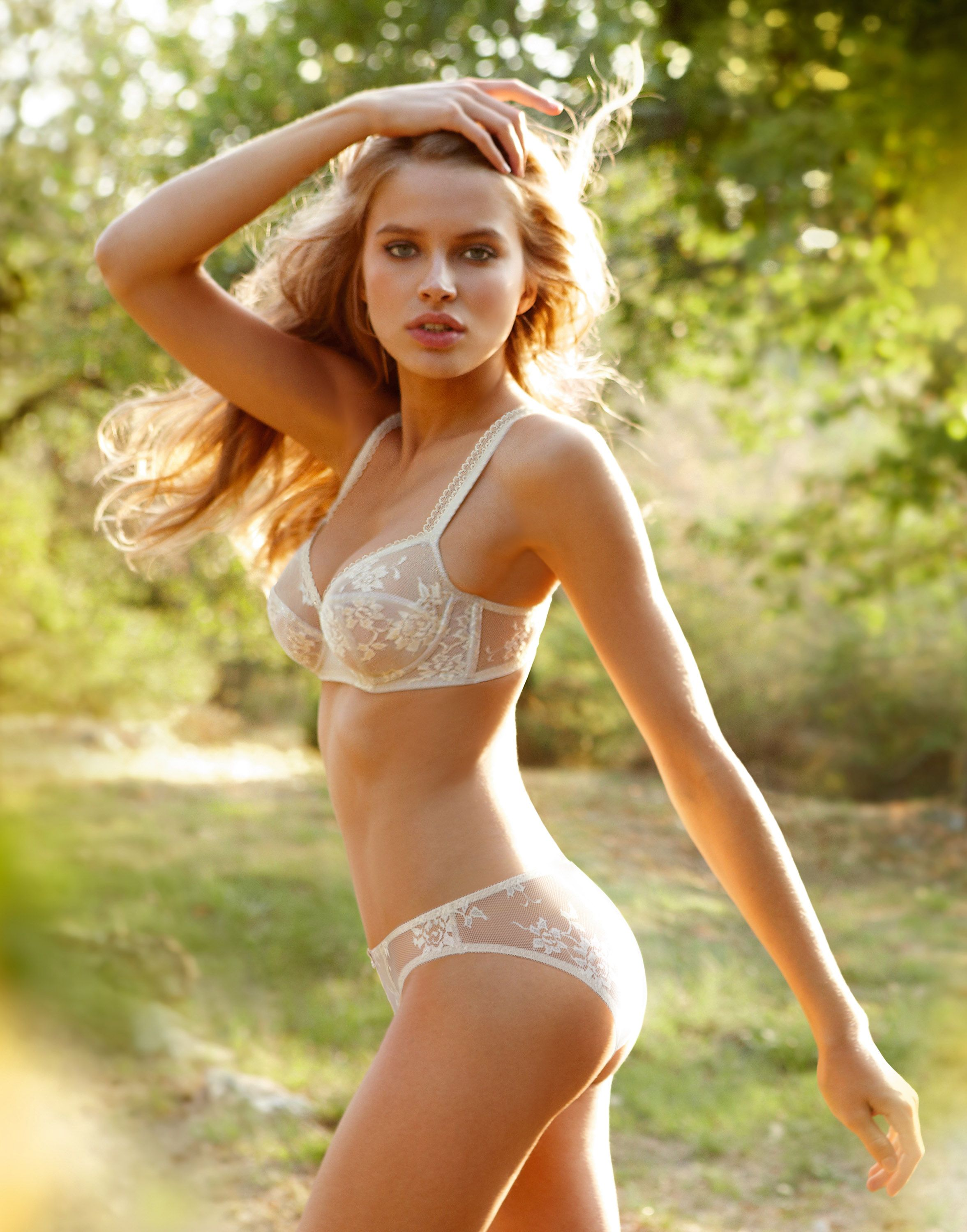 Russian model Tanya Mityushina