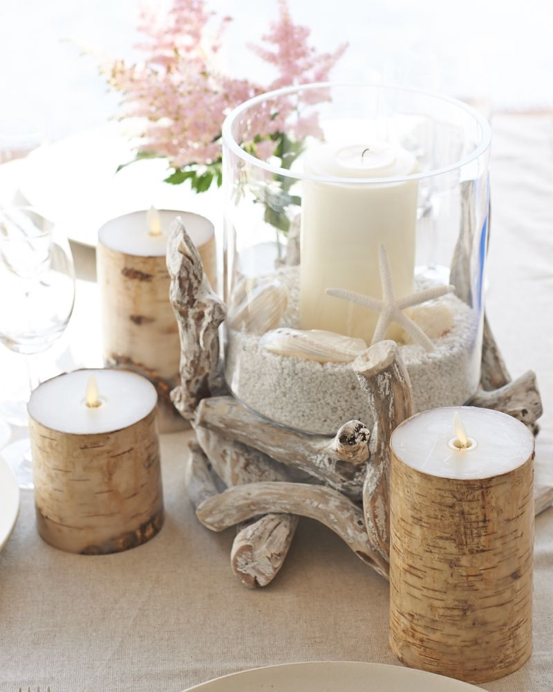 One Fine Day Table Decorations Candles Candle