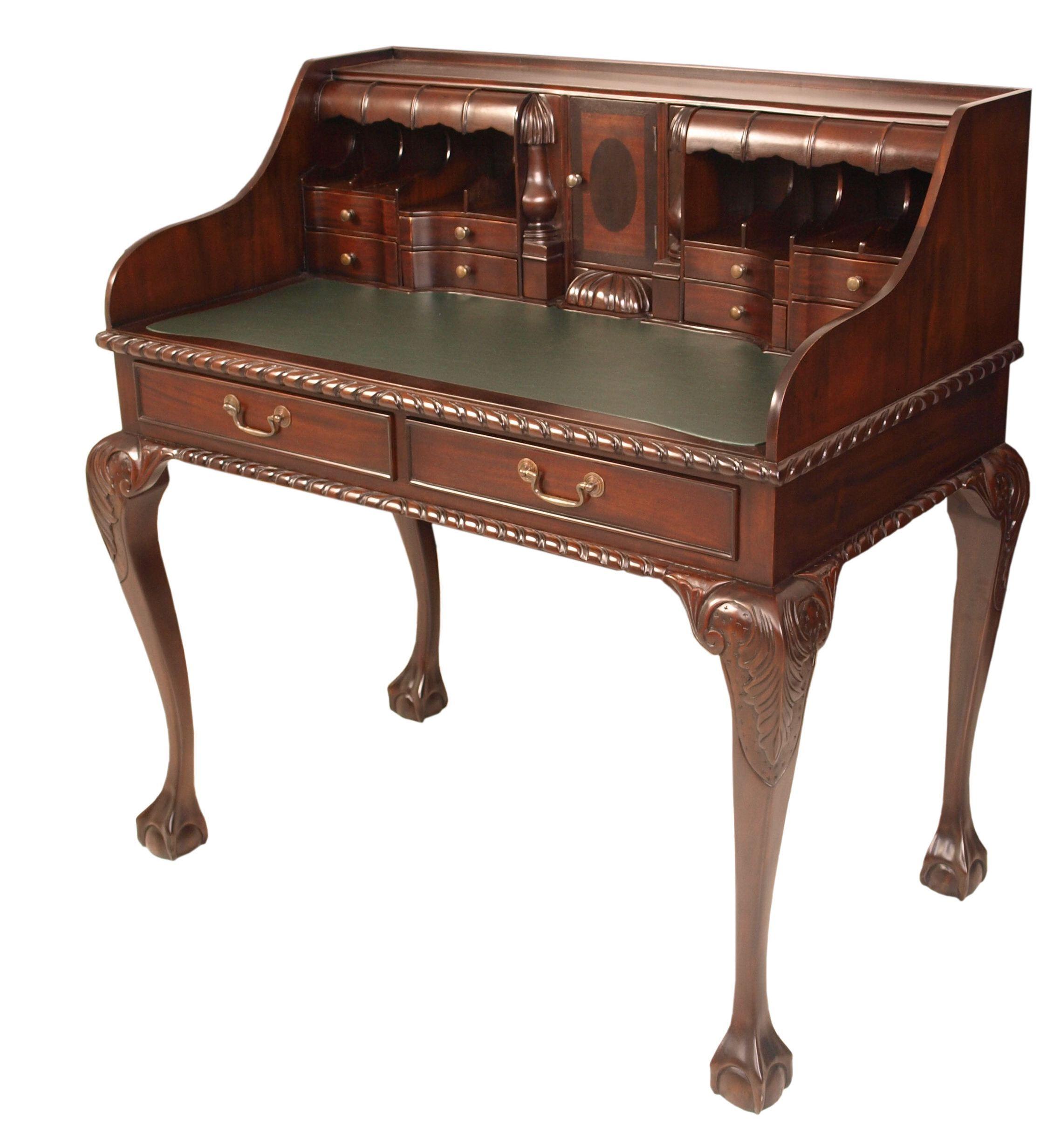 chippendale escritoire bureau for the home wooden cabinets rh pinterest com