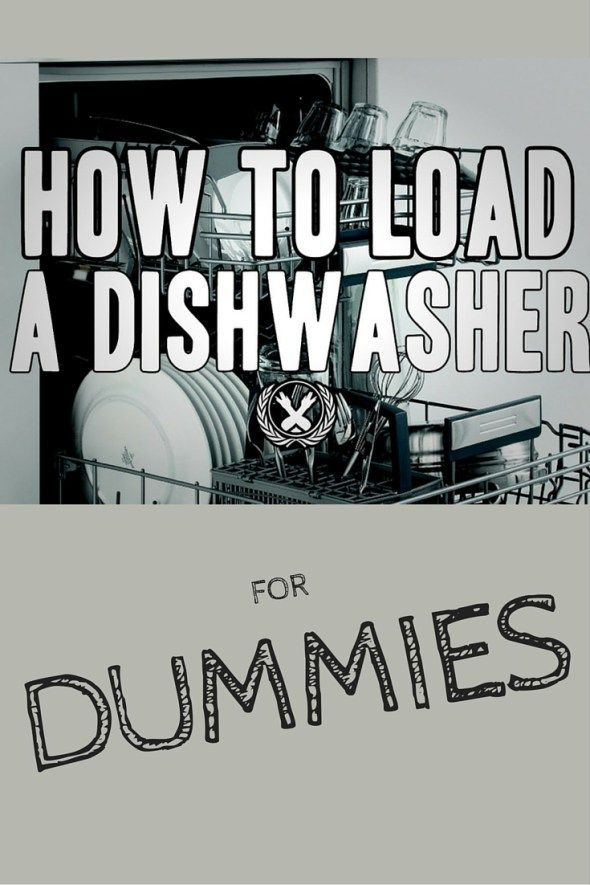 How To Load A Dishwasher For Dummies
