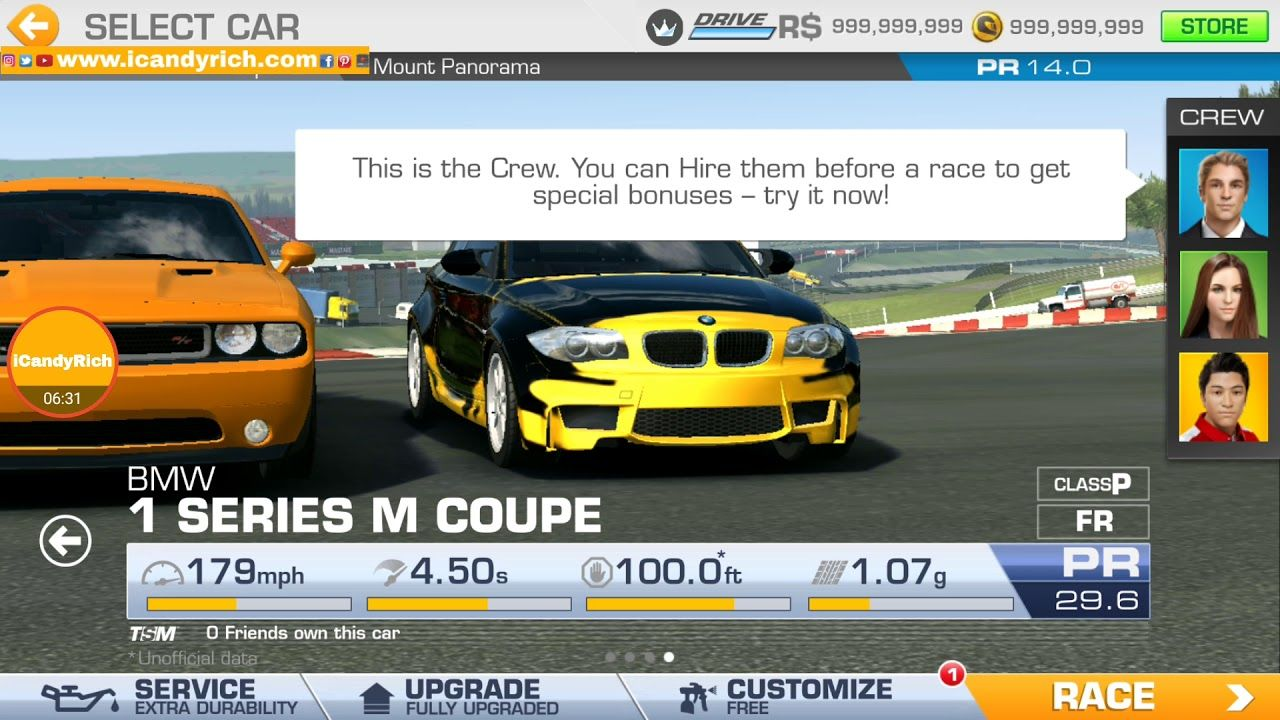 Real Racing 3 Gameplay 5 Bmw 1 Series M Coupe Ford Focus Rs