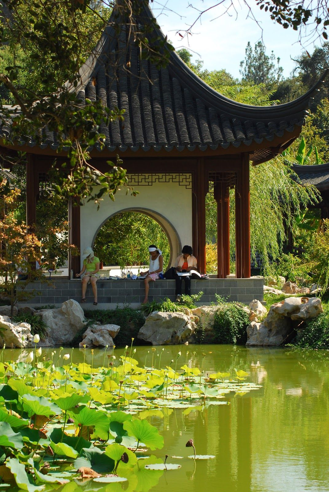 Huntington Art Gallery And Botanical Gardens