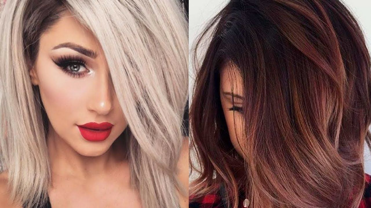 fall 2017 & winter 2018 hair color trends and ideas | all the best