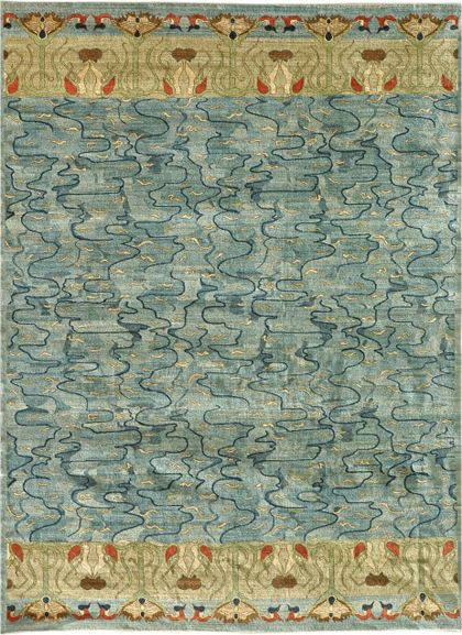 Orley shabahang art deco carpet