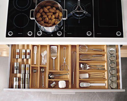 tiroir cuisine rangement