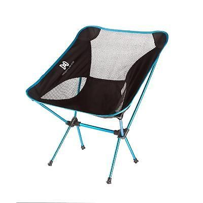 Folding Camping Chair With Carry Bag Backpacking Ultralight Portable Lightblue Backpacking Chair Folding Camping Chairs Heavy Duty Camping Chair