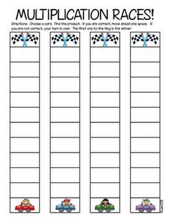 Really love this idea for a multiplication game! Great practice times tables.