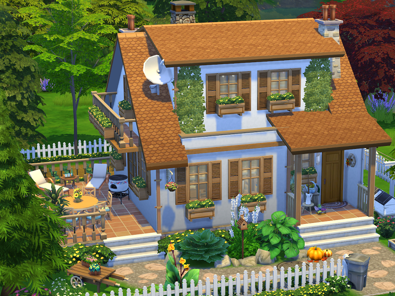 Flubs79's Sims 4 // Grandmas House // no CC