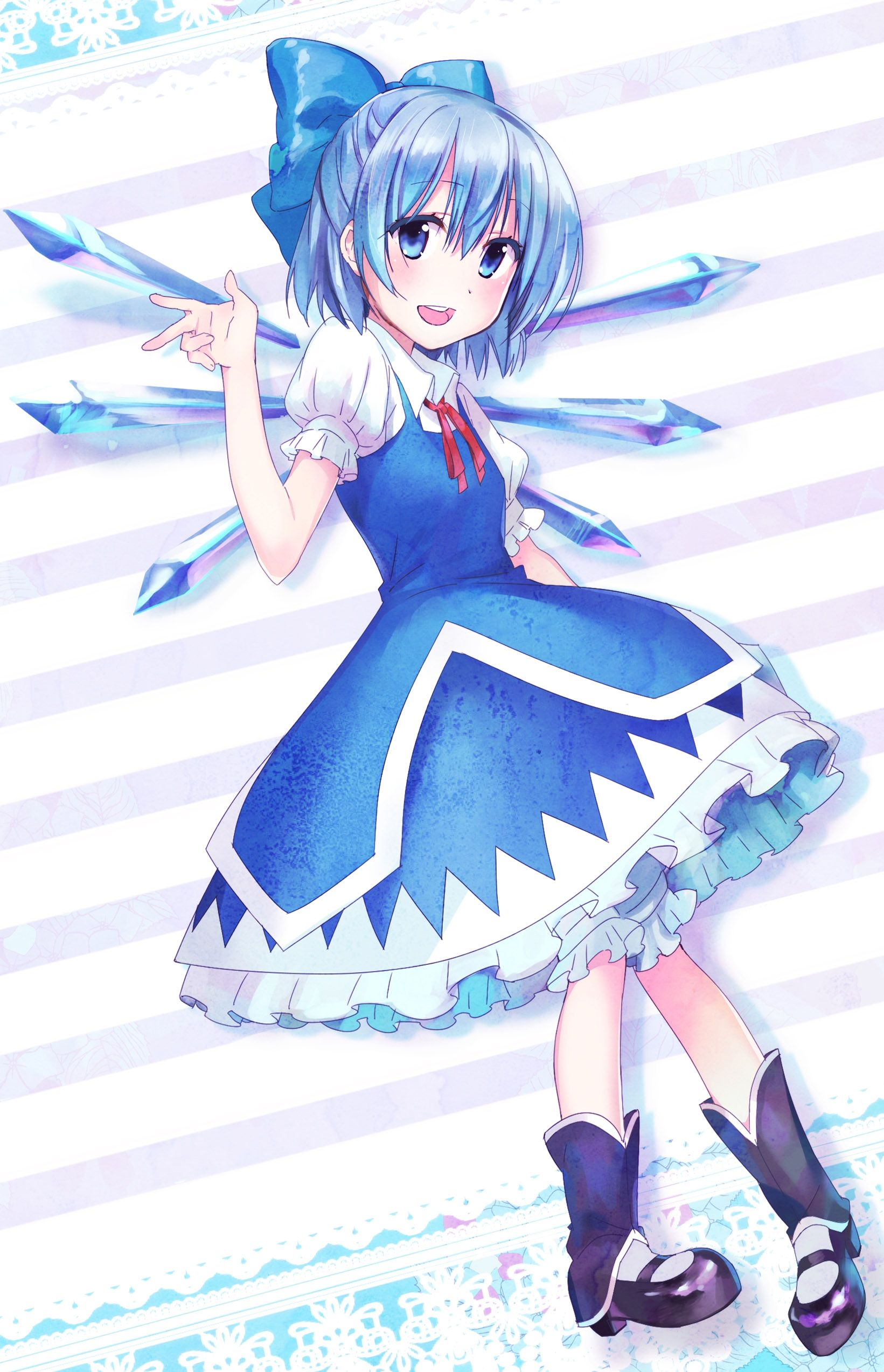 Pin by Phoenixwing on Cirno Touhou Project (東方Project