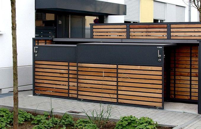 Schuppen Für Mülltonnen undefined | landscape in 2018 | pinterest | mülltonnenbox, müll und