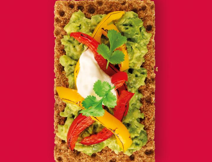 Recipes And Toppings Ryvita Recipe Healthy Recipes Easy Snacks Mexican Fajitas Recipes