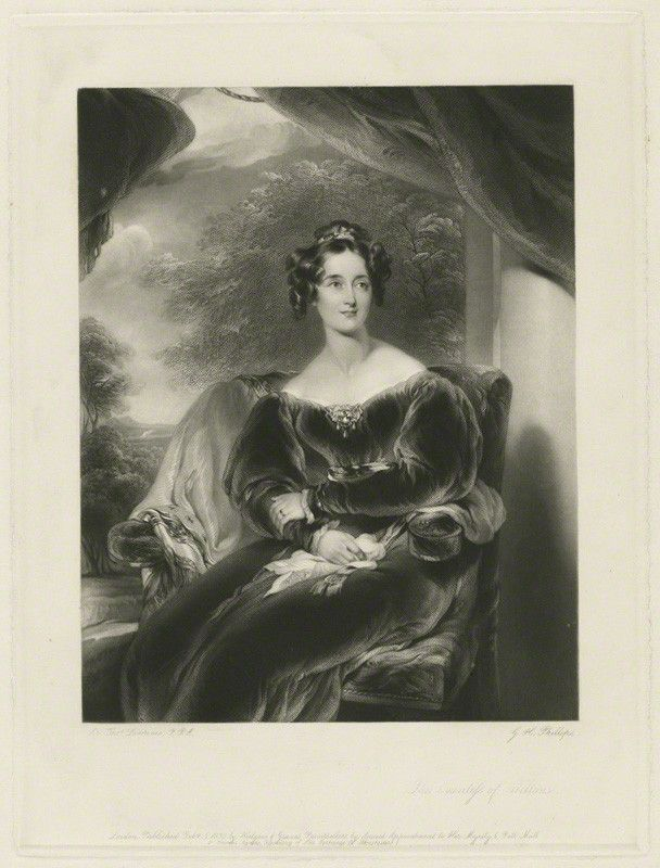 Mary Margaret Egerton (née Stanley), Countess of Wilton, by George ...