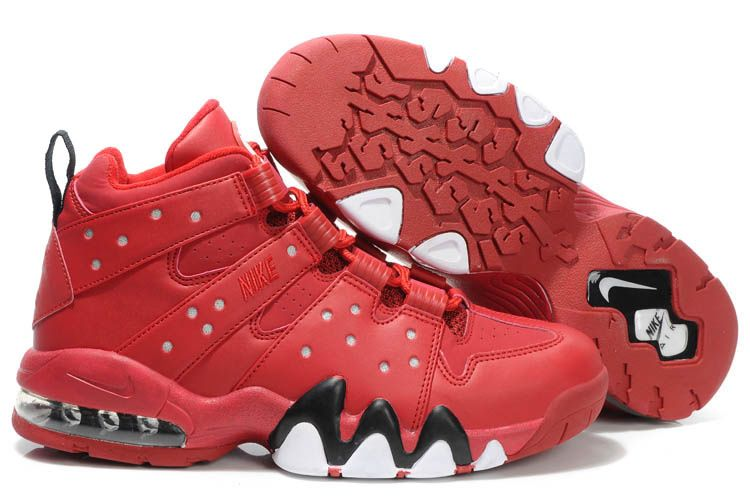 Get Best Sneakers. Nike Air Max2 CB 94 Red - Charles Barkley Shoes 6157bac10