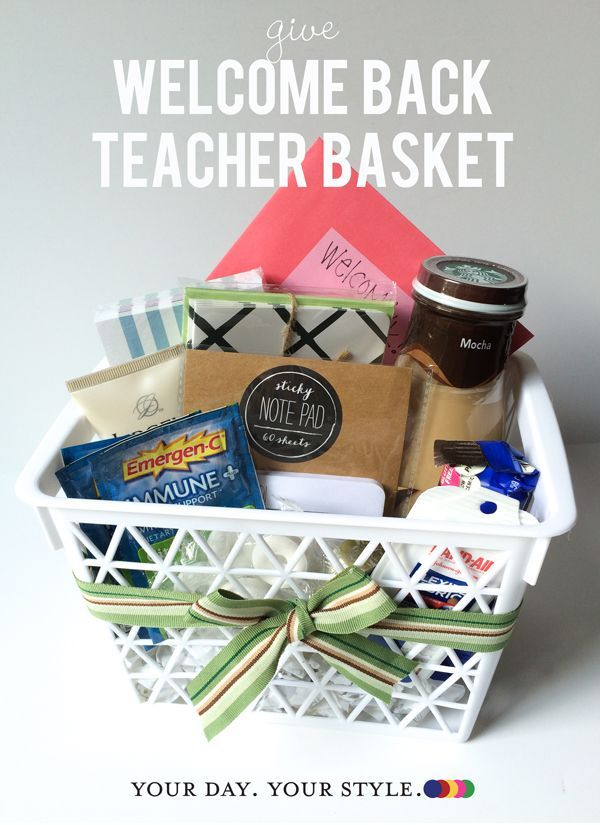 teacher gift back to school by your day your style homemade gifts rh pinterest de