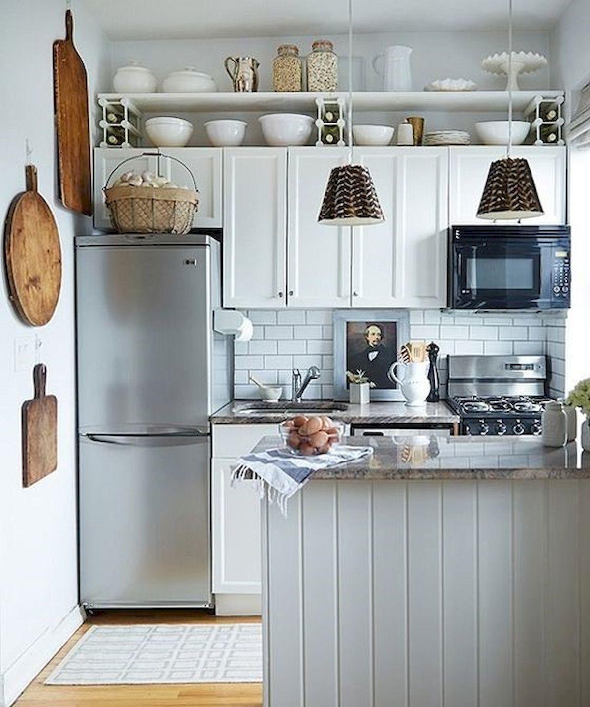 50 best small kitchen design ideas and decor 5 in 2019 apartment rh pinterest com