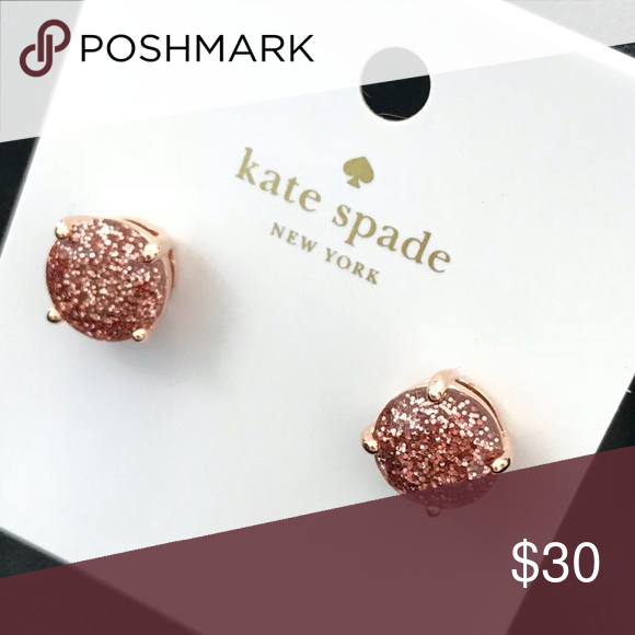 BNWT KATE SPADE studs with dustbag Brand new with tags & dustbag Color: rose gold kate spade Jewelry Earrings