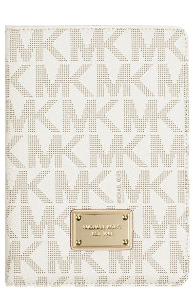 acaf136a47 MICHAEL Michael Kors  Signature  iPad mini Case available at  Nordstrom