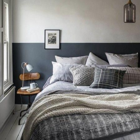 fill your bed with mismatched cushions to create a warm and cosy rh pinterest com