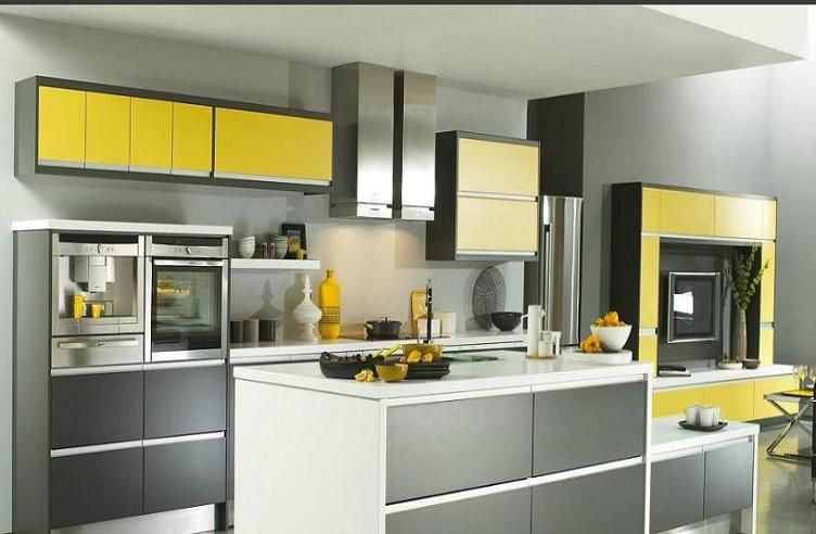 Pops Of Yellow  Housey  Pinterest  Kitchens Interiors And House Adorable Moben Kitchen Designs 2018