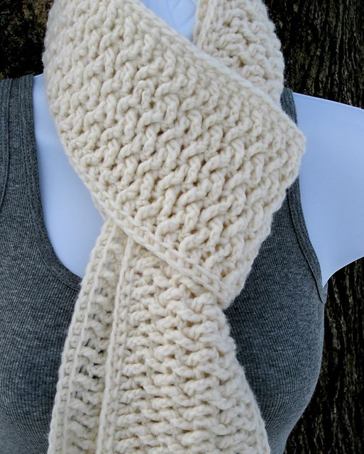 Since This Is Crochet Could I Actually Do This Myself Crochet Accessories Crochet Scarves Scarf Crochet Pattern