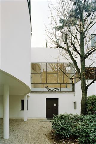 le corbusier maison la roche architecture pinterest fondation le corbusier le corbusier. Black Bedroom Furniture Sets. Home Design Ideas