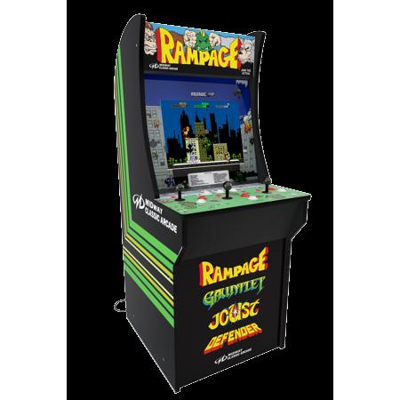 Rampage Arcade Machine Arcade1up 4ft Walmart Com Arcade Arcade Machine Classic Video Games