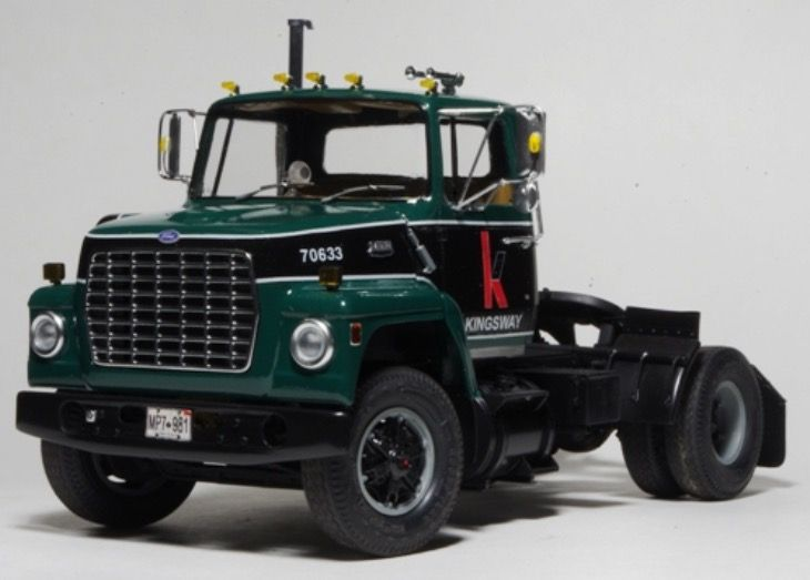 AMT Modified Ford Truck Model