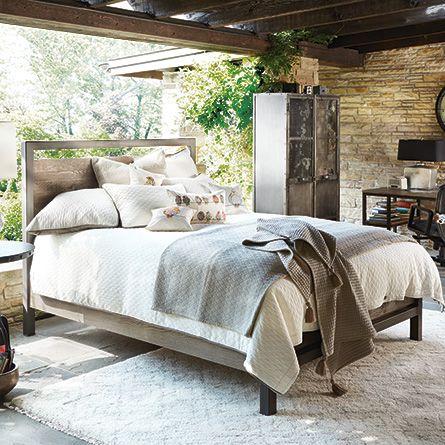 Arhaus Palmer Oak Queen Bed | Interior Design/Decor Inspirations ...