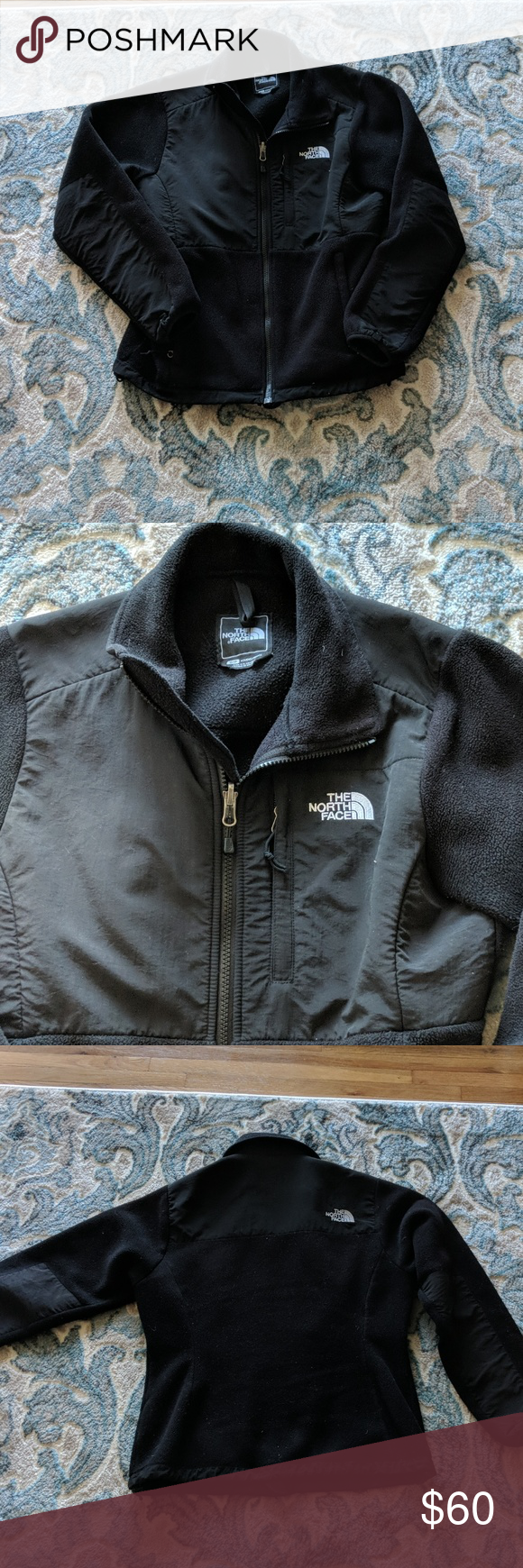The North Face Denali Jacket Used No Tears Or Stains Pet