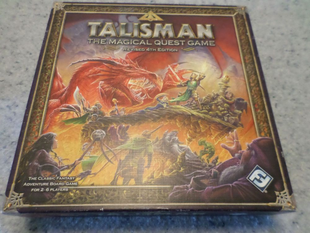 Revised Talisman 4th Edition Rule Book Instruction Booklet