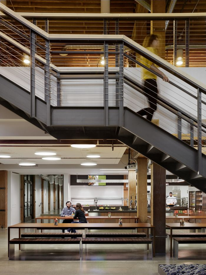 office tour weebly san francisco offices stairs design rh pinterest com