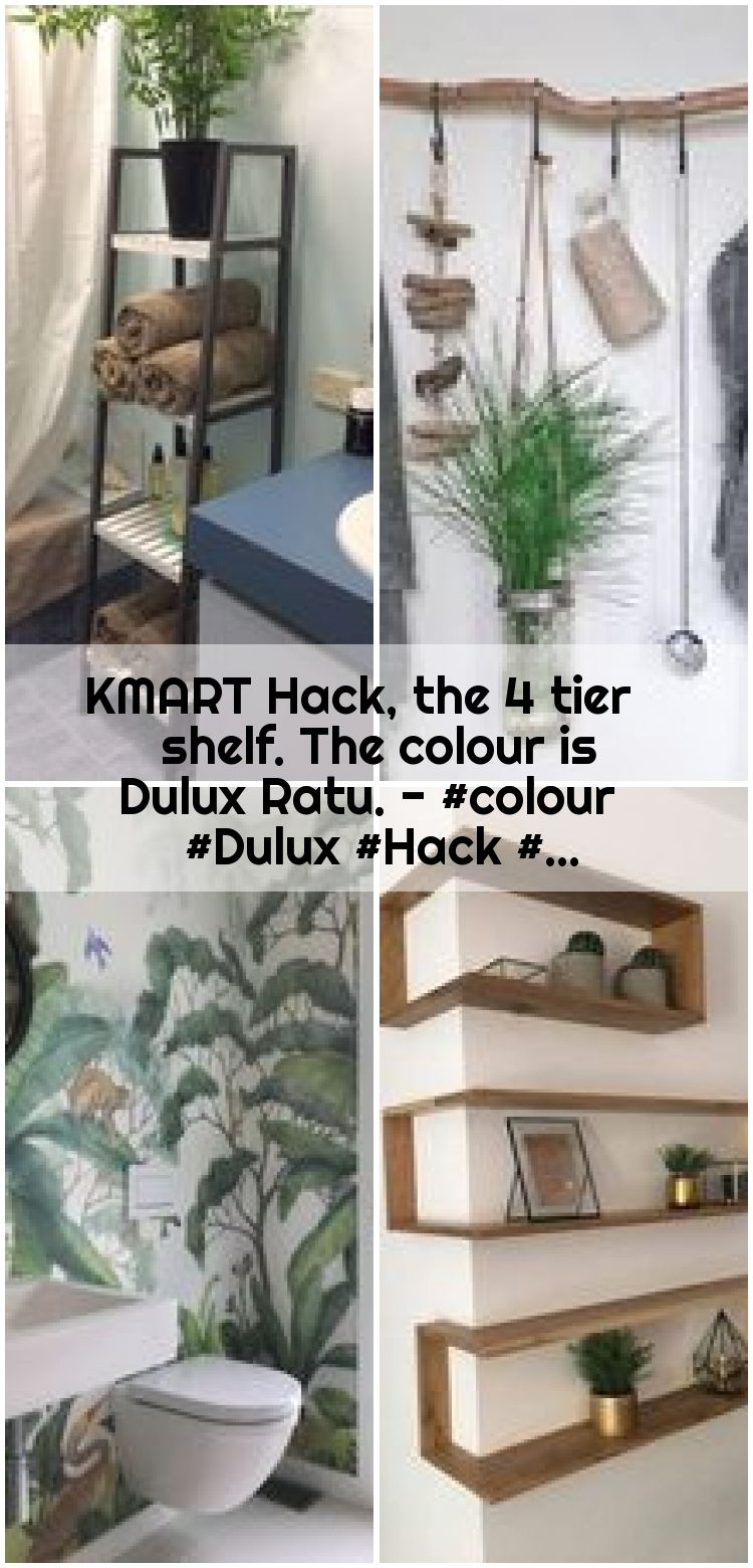 KMART Hack the 4 tier shelf The colour is Dulux Ratu  KMART Hack the 4 tier shelf The colour is Dulux Ratu   KMART Hack the 4 tier shelf The colour is Dulux Ratu