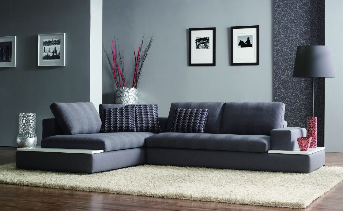 Modern living room furniture Superb Modern Dark
