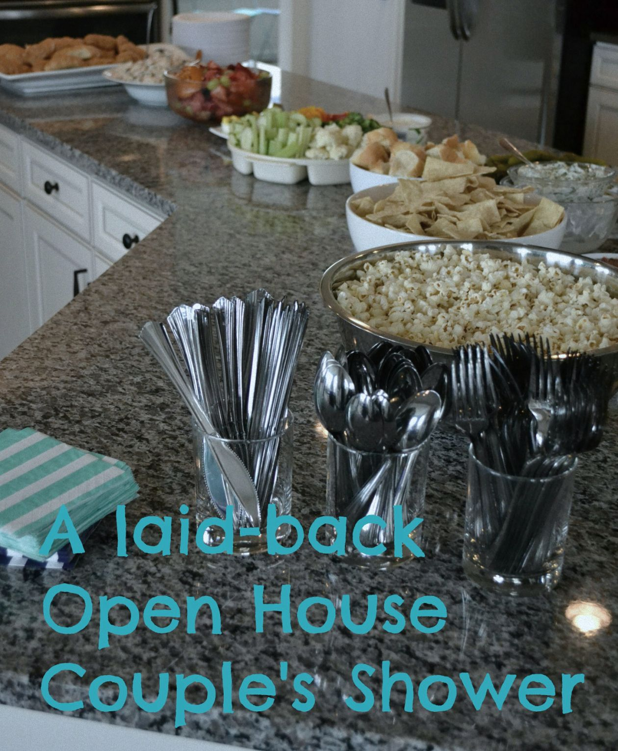 A Laid Back Open House Couples Shower
