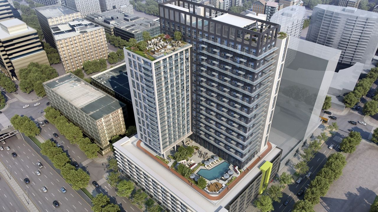 Luxury Highrise in the heart of it all. Modera Midtown in Atlanta ...