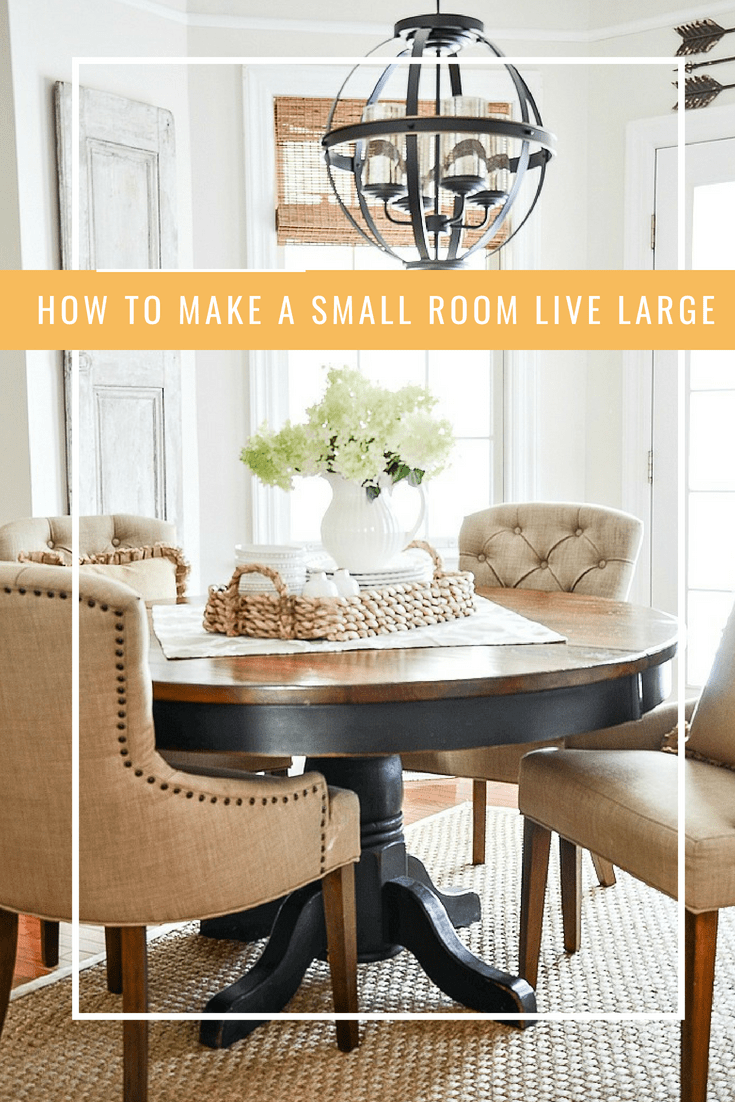 how to make a small space live large all things home from rh pinterest com