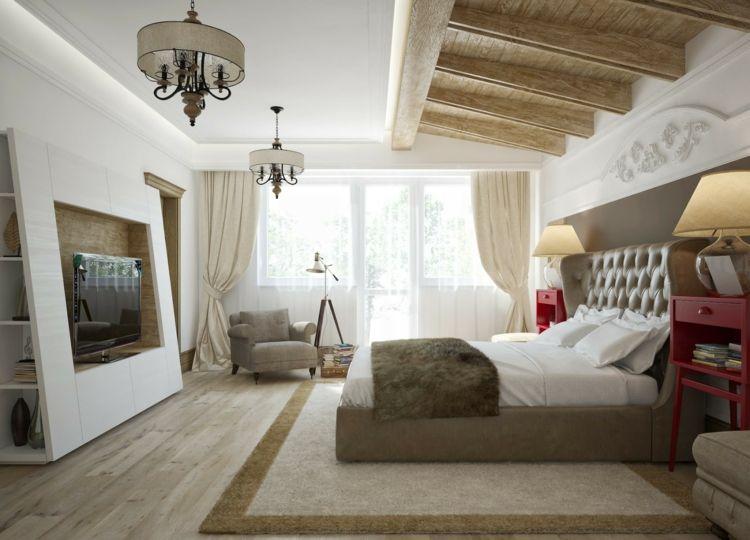 Moderne Deckengestaltung U2013 83 Schlaf Wohnzimmer Ideen14 Besten