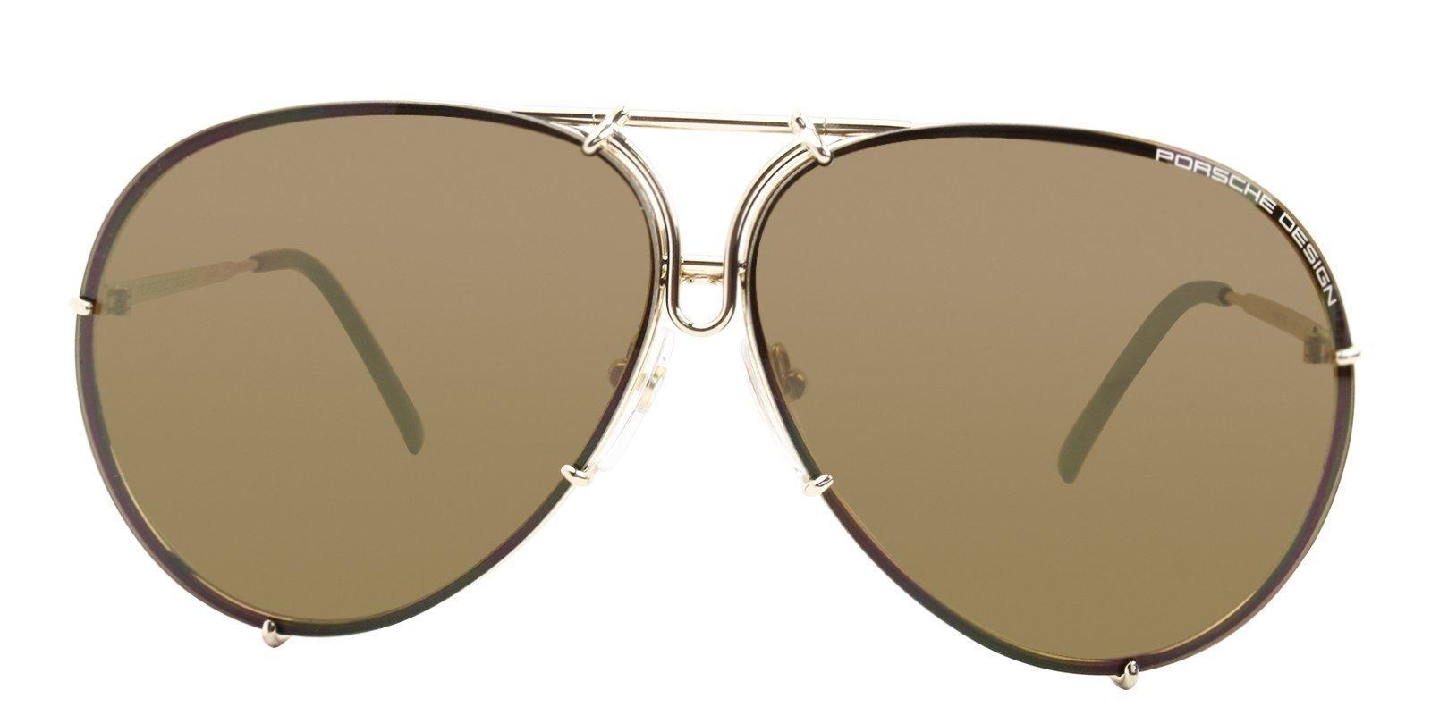 0fa4e92e22 Porsche Design - P8478 Gold - Brown sunglasses