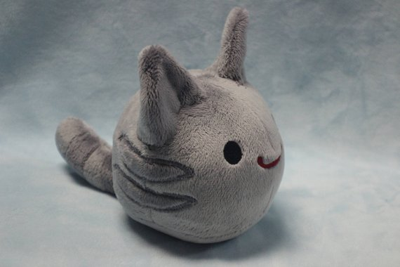Tabby Slime Rancher inspired cat blob 5