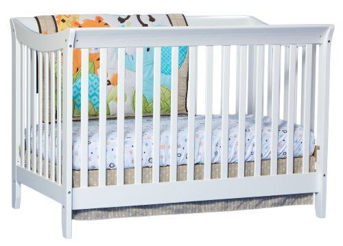 Stork Craft Giovanna 2 in 1 Fixed Side Convertible Crib, White, Pack of 1, http://www.amazon.ca/dp/B00CIPVX42/ref=cm_sw_r_pi_awdl_0ca.ub0QKZGC1
