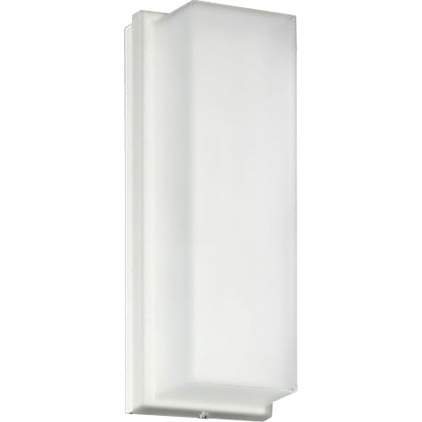 Progress Lighting P7124 60 Energy Efficient Lamps With White Ribbed Acrylic Diffuser For Wall Moun Outdoor Wall Lighting Progress Lighting Wall Sconce Lighting