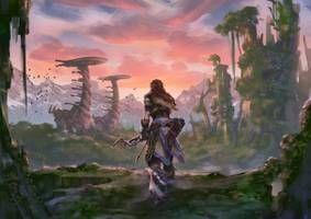 Horizon Zero Dawn - Coming Home by fantasio on DeviantArt