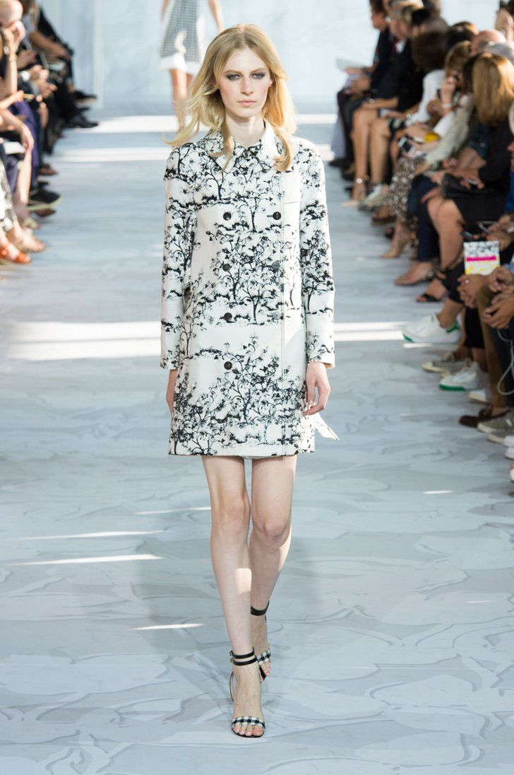 Pin for Later: DVF Outdid 40 Years of Fashion History Diane von Furstenberg Spring 2015
