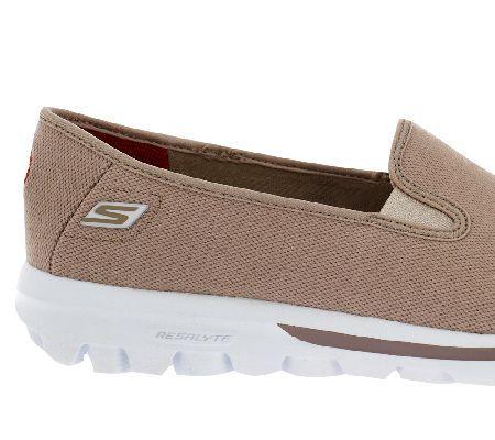 Skechers GOwalk Canvas Slip on Sneakers Cadence | Slip on